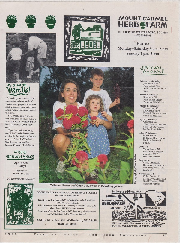Herb farmers for 35 years